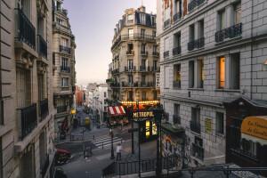 european-city-street