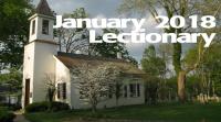 January 2018 - Lectionary
