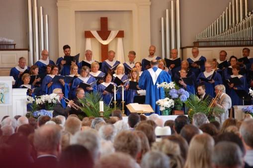 Chancel Choir at Easter