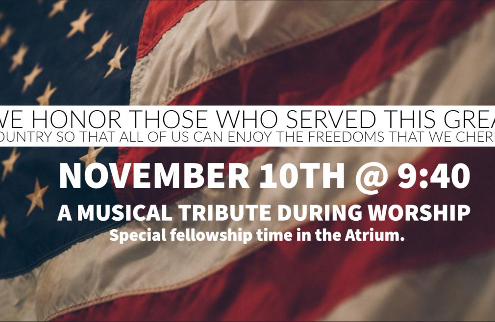 Veteran's Tribute